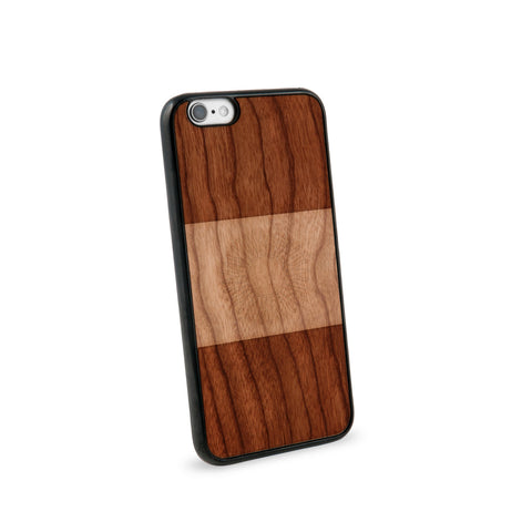 Argentina Flag Natural Wooden iPhone 6 Case in American Cherry Wood