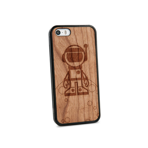 Astronaut Natural Wooden iPhone 5/5S Case in American Cherry Wood