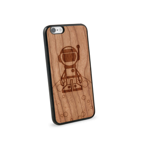 Astronaut Natural Wooden iPhone 6 Case in American Cherry Wood