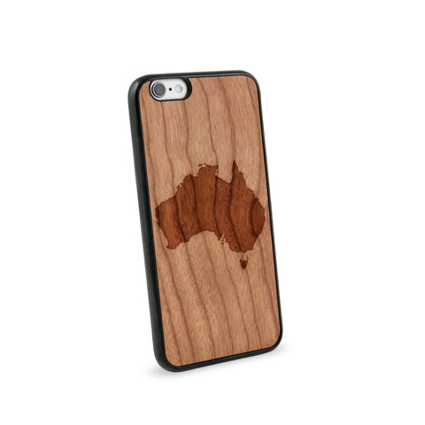 Australia Natural Wooden iPhone 6 Case in American Cherry Wood