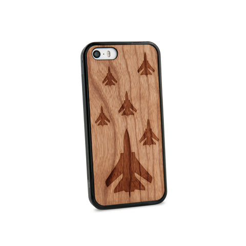 Airforce Natural Wooden iPhone 5/5s Casein American Cherry Wood