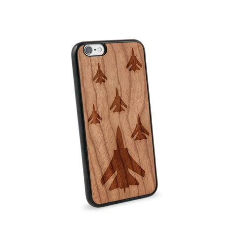 Airforce Natural Wooden iPhone 6 Casein American Cherry Wood