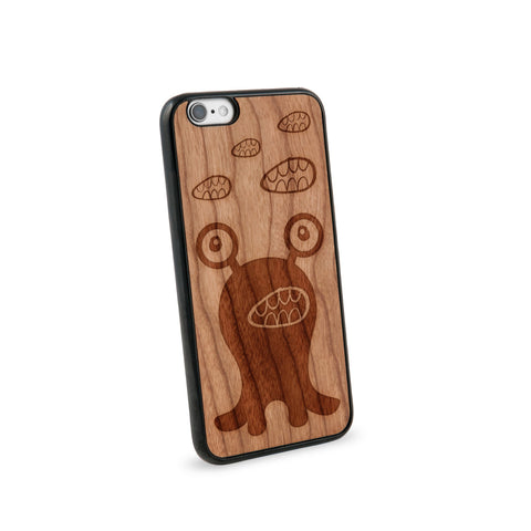 Alien Believe Natural Wooden iPhone 6 Case in American Cherry Wood