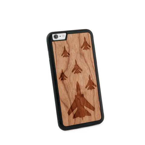 Airforce Natural Wooden iPhone 6+ Casein American Cherry Wood