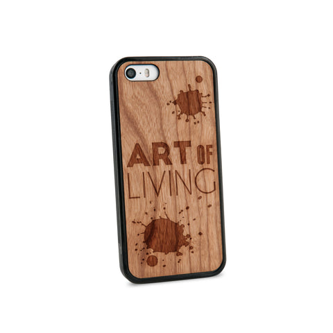 Art Of Living Natural Wooden iPhone 5/5S Case in American Cherry Wood