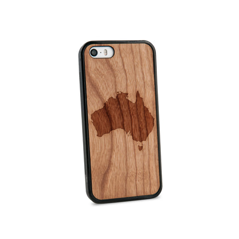 Australia Natural Wooden iPhone 5/5S Case in American Cherry Wood
