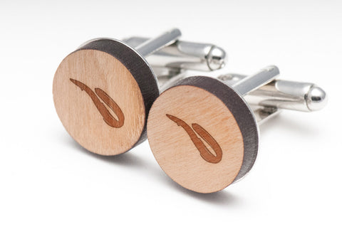 Eel Wood Cufflinks