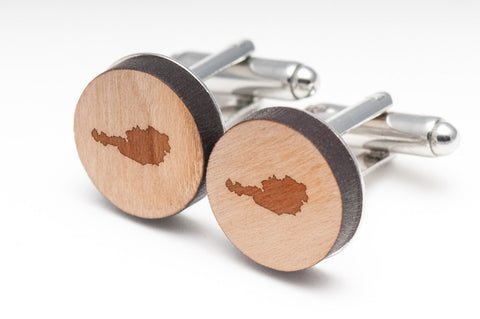 Austria Wood Cufflinks