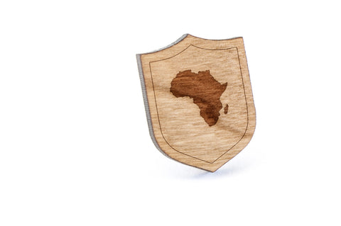 Africa Wood Lapel Pin