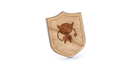 Devil Wood Lapel Pin