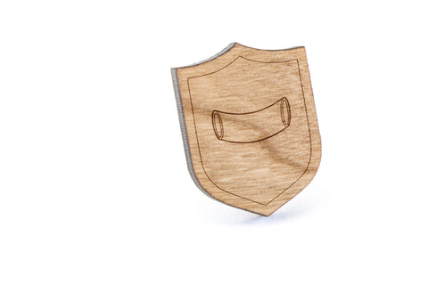 Caneloni Wood Lapel Pin