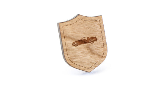 Chevy Wood Lapel Pin