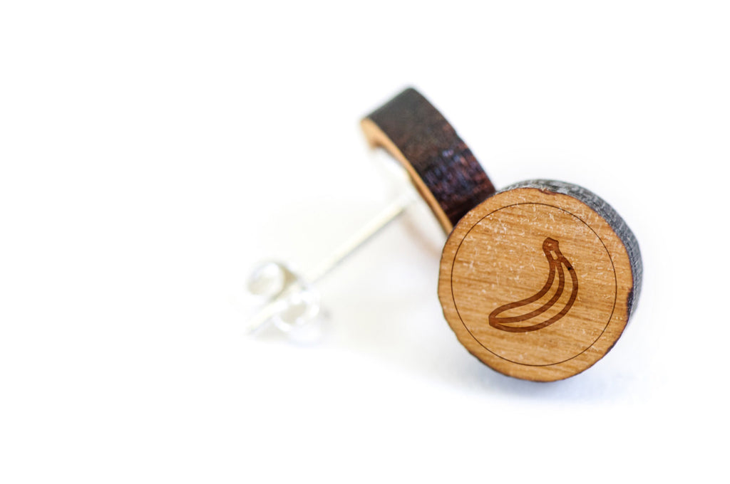 Banana Wood Earrings