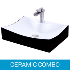 Ceramic Sink and Faucet Combinations