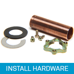 Install Hardware for faucets