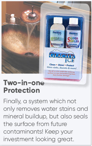 Faucet and Sink Restore Cleaner with Sealer Kit NOV-GI/RSS