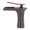 VANDY Single Lever Waterfall Lav Faucet; GF-365S Series