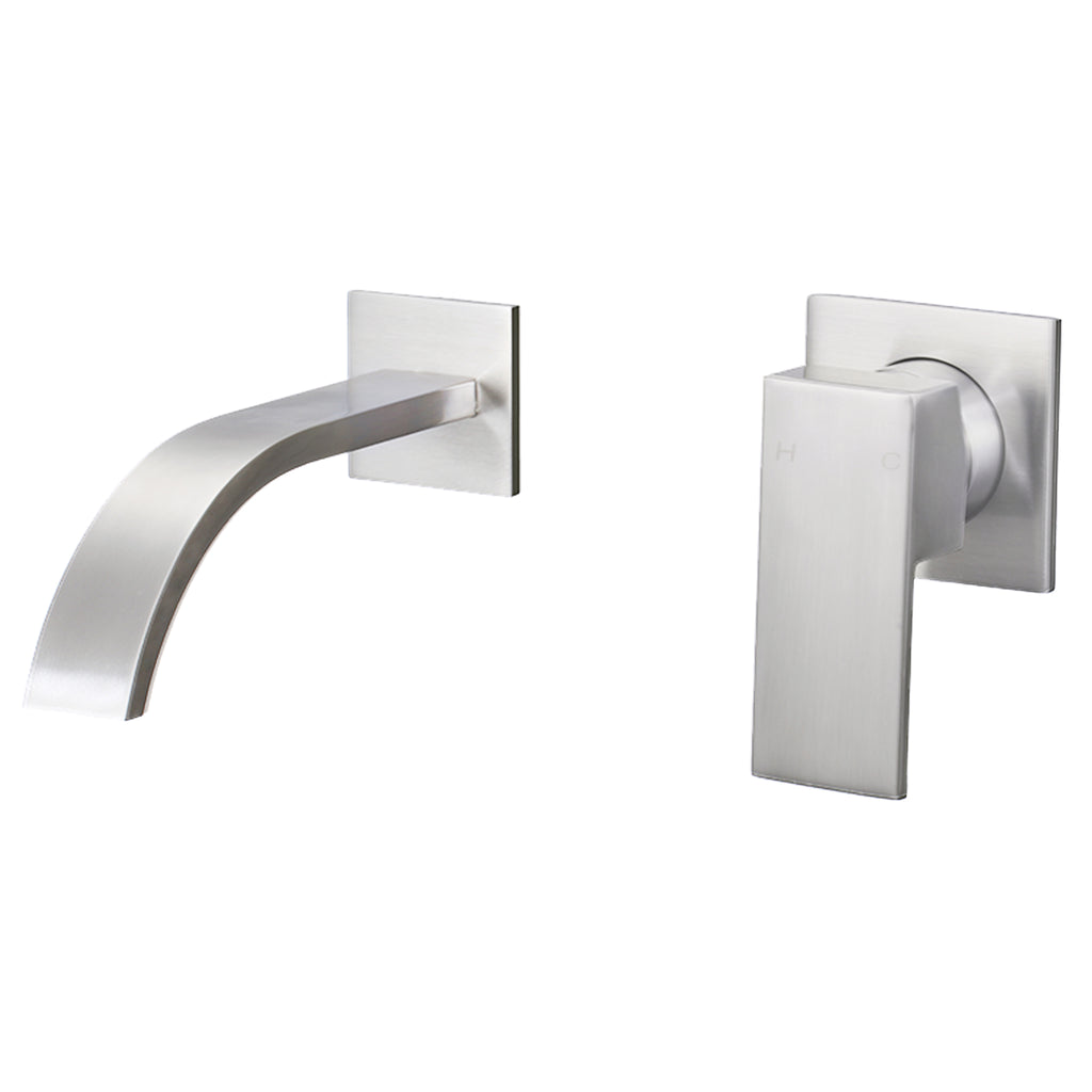 Single Handle Wall Mount Bathroom Faucet
