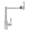 360-degree pivotal head Stainless Steel Kitchen Faucet