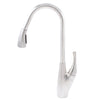 Dual Action Single Lever Pull-Down Kitchen Faucet