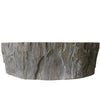 petrified wood bath sink