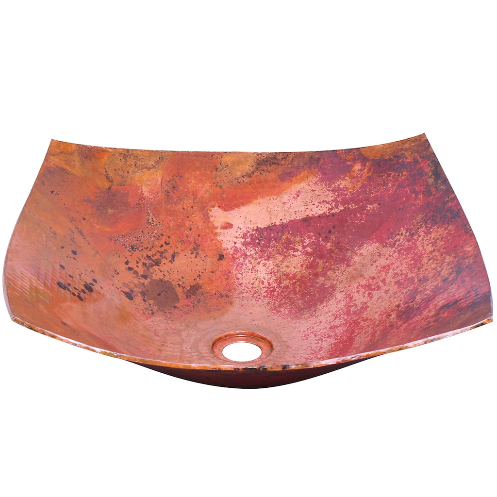 modern copper vessel bathroom sink