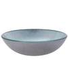 Silver Foiled Round Glass Vessel Bath Sink