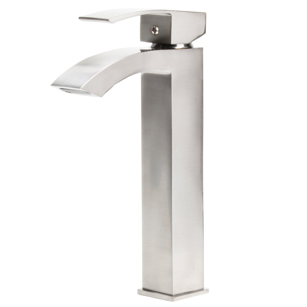 Single Handle Vessel Bathroom Faucet, GF-123BN