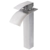brushed nickel vessel faucet