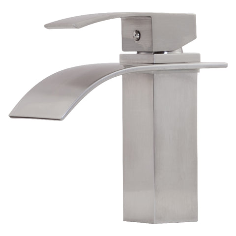 single hole lav faucet