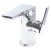 Contemporary Single Handle Lavatory Faucet chrome
