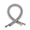 Hot and cold water supply line flexible hose