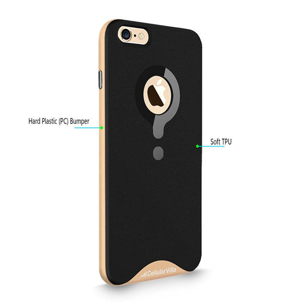 iPhone 6 Plus / 6S Plus Case, Cellularvilla [Matte Finish] [Dual Layer] Hard Bumper Case [Shock Absorbent] Rubber Soft TPU Back Cover for Apple iPhone 6 Plus / iPhone 6S Plus 5.5 inch