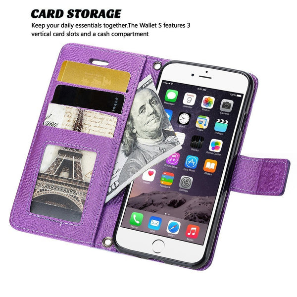iPhone 7 Plus Case, Cellularvilla [Stand Feature] [Slim Fit] Wallet Case, Premium PU Leather Flip Cover [Card Slots] [Wristlet] Book Design with Flip Cover For Apple iPhone 7 Plus