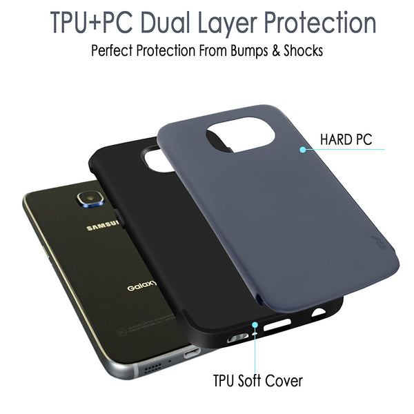 iPhone 6 Plus / 6s Plus Case, Cellularvilla - Heavy Duty Dual Layer Protective Cover [Matte Finish] Tough Armor Shockproof Case for Apple iPhone 6 Plus / iPhone 6S Plus 5.5 inch