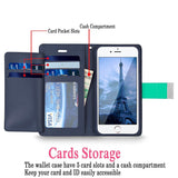 iPhone 6 Plus / 6S Plus Case, Cellularvilla Wallet Leather Case with Stand, Card Pockets Book Style Flip Stand Cover For Apple iPhone 6 Plus / iPhone 6S Plus 5.5 Inch