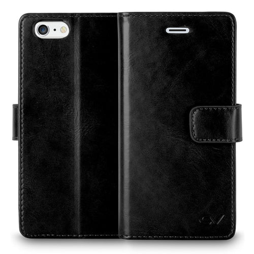 iPhone 6 Case / iPhone 6S Case, Cellularvilla [Slim Fit] [Stand Feature] Premium PU Leather Flip Wallet Case [Card Slot] diary style Folio Protective Cover For Apple iPhone 6 / 6S 4.7 Inch