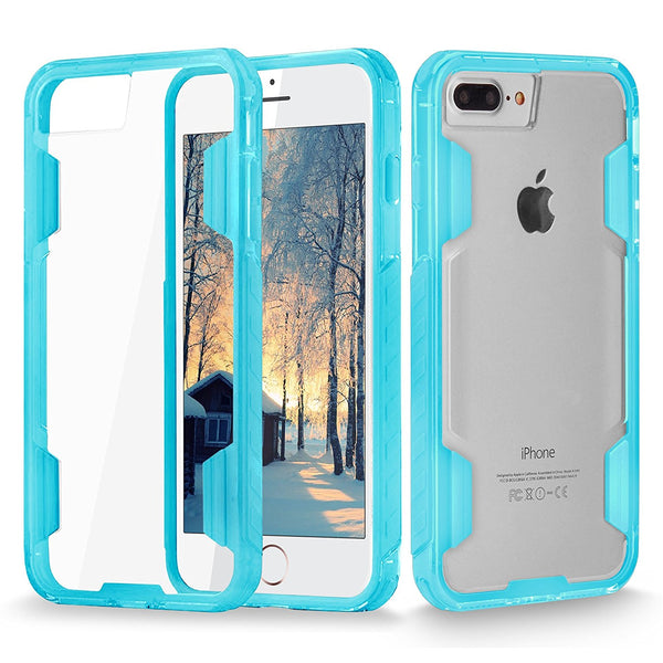 iPhone 7 Plus Case, Cellularvilla [Air Cushion] Crystal Clear Hard Transparent Back Protective Case [Anti-Scratch] Soft TPU Shockproof Bumper Cover For Apple iPhone 7 Plus 5.5 Inch