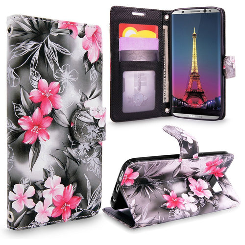 Galaxy S8 Plus Case, Cellularvilla [Slim] [Card Slot] Premium Pu Leather Wallet Case [Wristlet] [Drop Protection] Flip Protective Shell Stand Cover For Samsung Galaxy S8 Plus