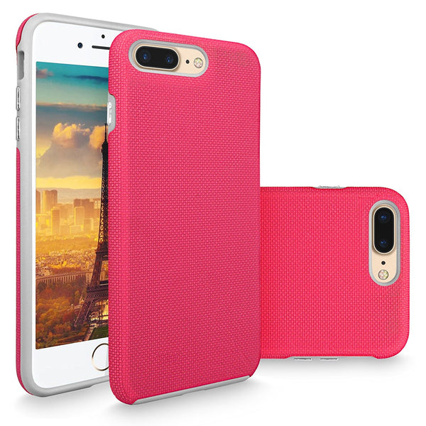 iPhone 7 Plus Case, Cellularvilla [Heavy Duty] High Impact Hybrid Dual Layer Protective Shell Case [Hard + Soft] Tough Armor Shockproof Back Cover For Apple iPhone 7 Plus 5.5 Inch