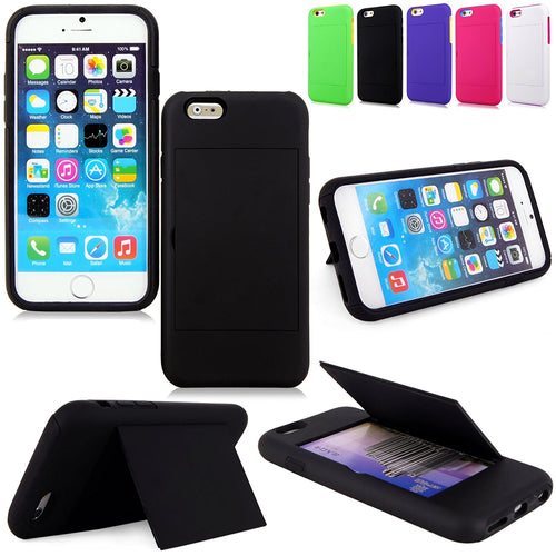 "Cellularvilla iphone 6 4.7"" inch / iphone 6 plus 5.5 stowaway Cover Protector + Stylus Touch Pen"