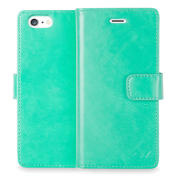 iPhone 6 Plus / 6S Plus Case, Cellularvilla [Slim Fit] Premium PU Leather Flip Wallet Case [Card Slot] Diary Style Folio Protective Cover For Apple iPhone 6 Plus / iPhone 6S Plus 5.5 Inch