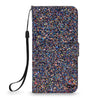 For LG Stylo 3 Plus / LG Stylus 3 LS777 Luxury Bling Multi Tonal Glitter Premium Leather Card Slots Wallet Case Flip Protective Stand Cover