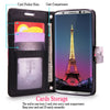 For Samsung Galaxy S8 Plus Pu Leather Card Slot Wallet Case Flip Protective Shell Stand Cover