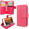 For Apple iPhone 6 / 6S 4.7 inch PU Leather Flip Stand Card Slots Purse Wallet Case Magnetic Detachable Back Cover