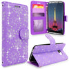 For Samsung Galaxy S8 Pu Leather Card Slot Wallet Case Flip Protective Stand Cover
