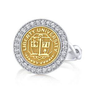 The Pursuit 234 university collection ring in 12 mm.