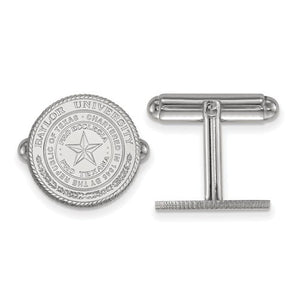 Baylor University Seal Cuff Links