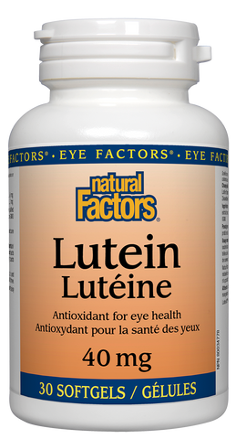 Natural Factors Lutein 40mg