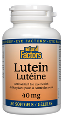 Natural Factors Lutein 40mg | Eye & Vision Care | Natural Factors